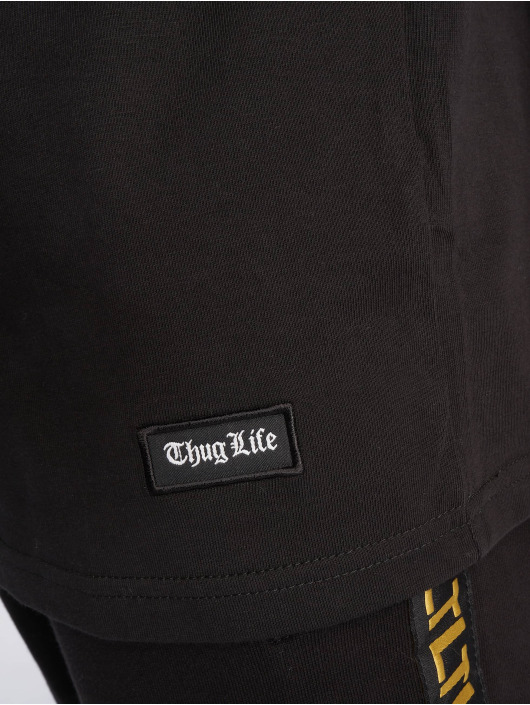 Thug Life T-Shirt Absolute schwarz