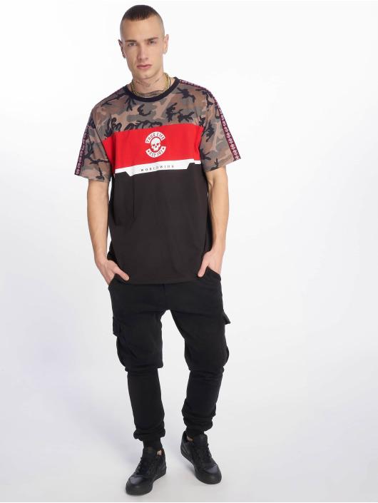 Thug Life T-Shirt Delux schwarz