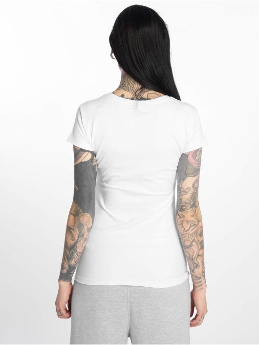 Thug Life T-Shirt Queen weiß