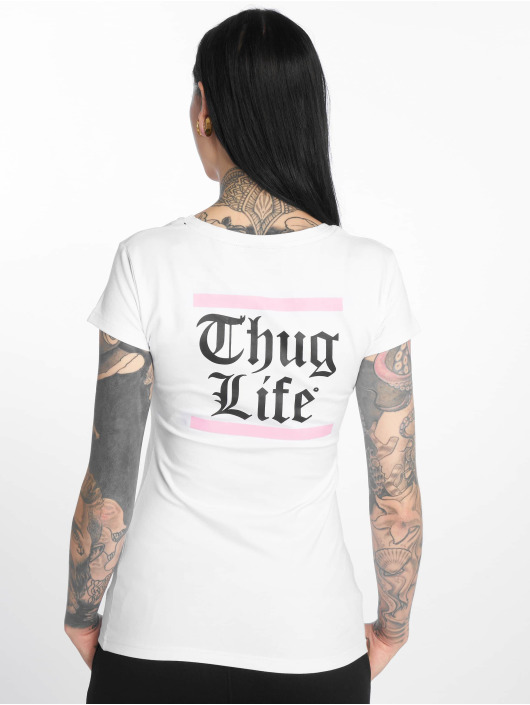 Thug Life T-Shirt Nikki white