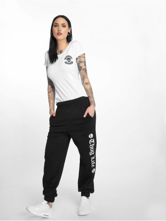 Thug Life T-Shirty Nikki bialy