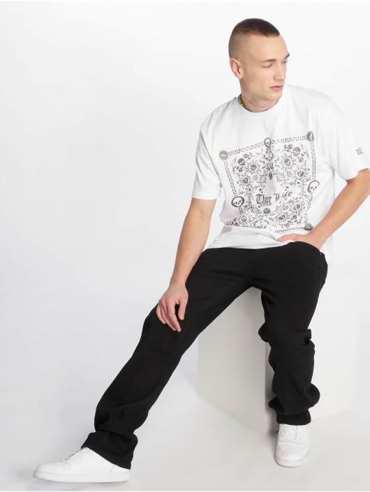 Thug Life T-Shirty Prinz bialy