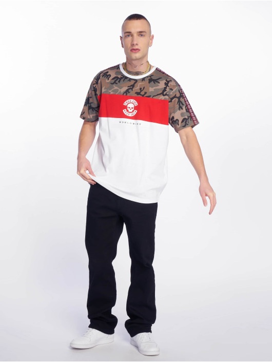 Thug Life T-Shirty Delux bialy