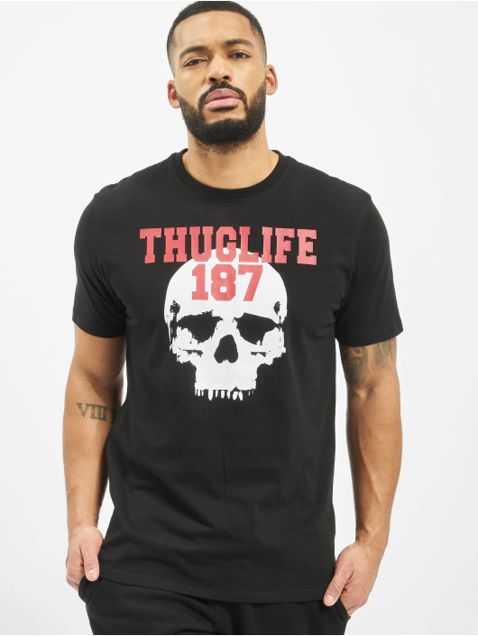 Thug Life T-Shirty Stay True czarny