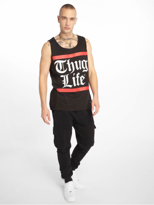 Thug Life Tank Tops Cros èierna
