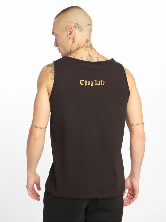 Thug Life Tank Tops Maris èierna