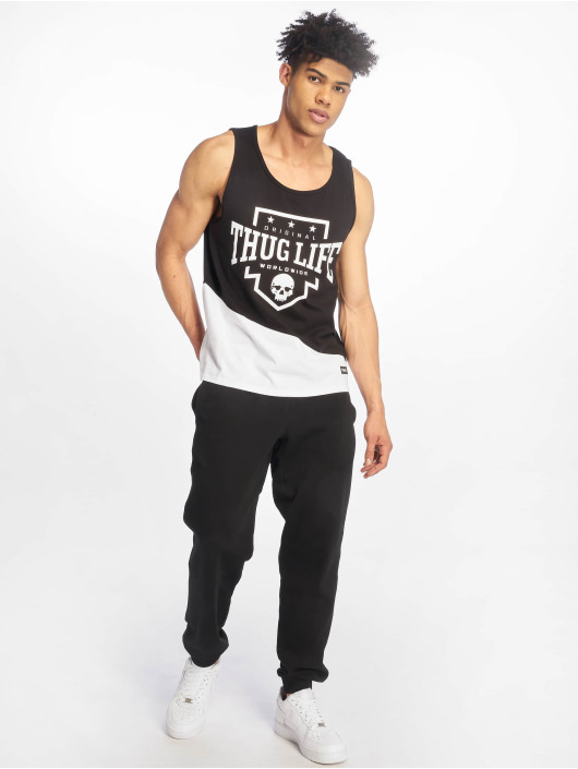Thug Life Tank Tops Matik black