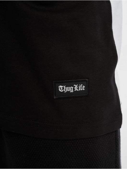Thug Life Tank Tops Leopard black