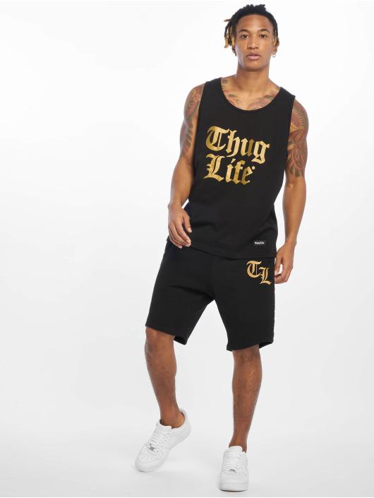 Thug Life Tank Tops Takt czarny