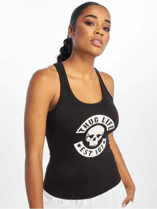 Thug Life Tank Tops Lattifa svart