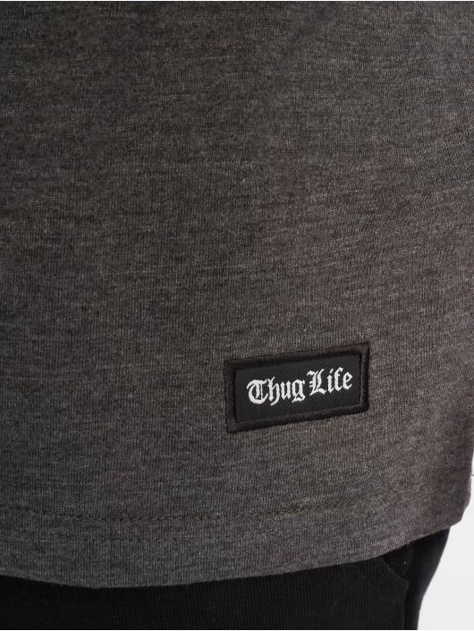 Thug Life Tričká Prinz šedá
