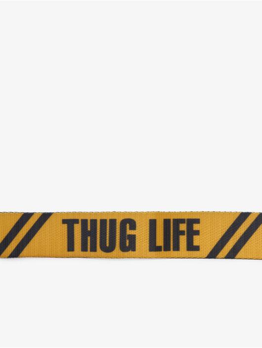 Thug Life Vyöt Attention keltainen