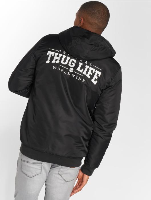 Thug Life Winterjacke Divers schwarz