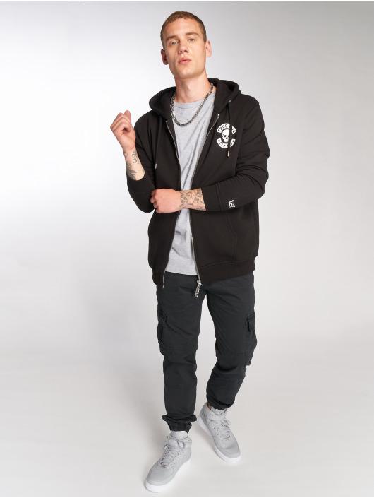 Thug Life Zip Hoodie B.Gothic schwarz
