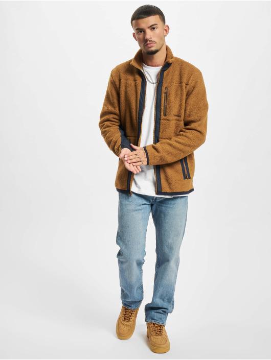 Timberland Демисезонная куртка MM Sherpa Fleece коричневый