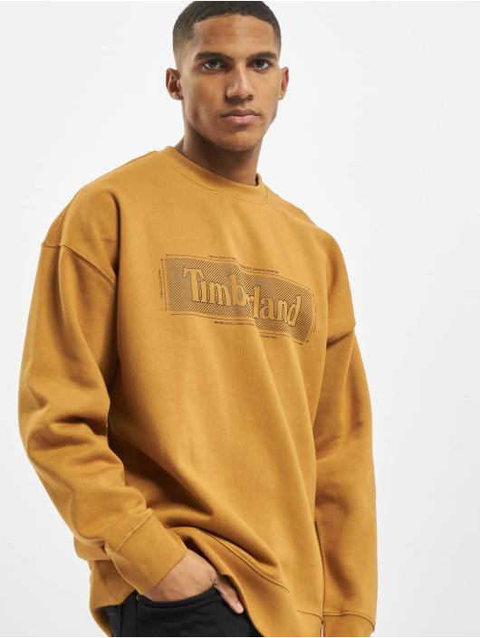 Timberland Пуловер TFO YC Crew LG коричневый