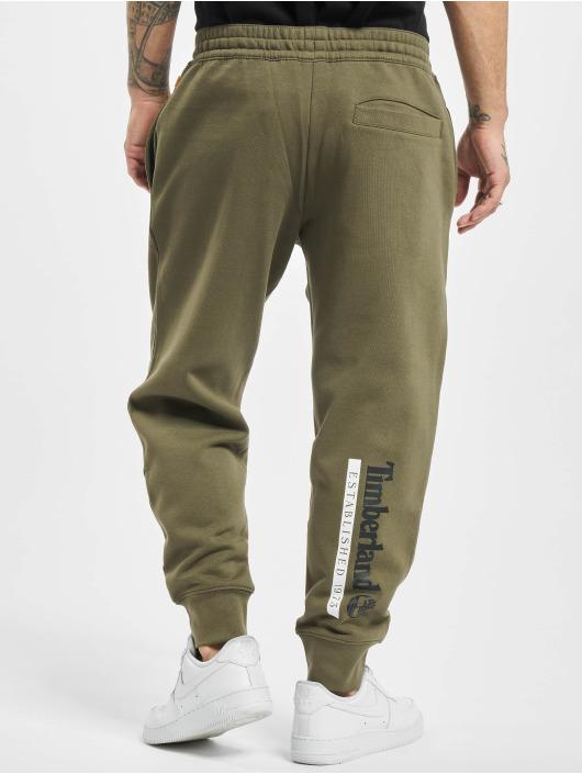 Timberland Спортивные брюки Estab 1973 зеленый