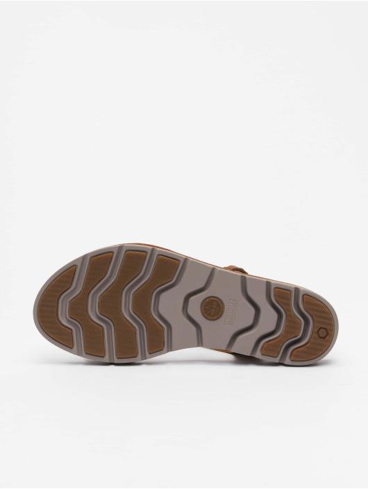Timberland Шлёпанцы Lottie Lou 1Band коричневый