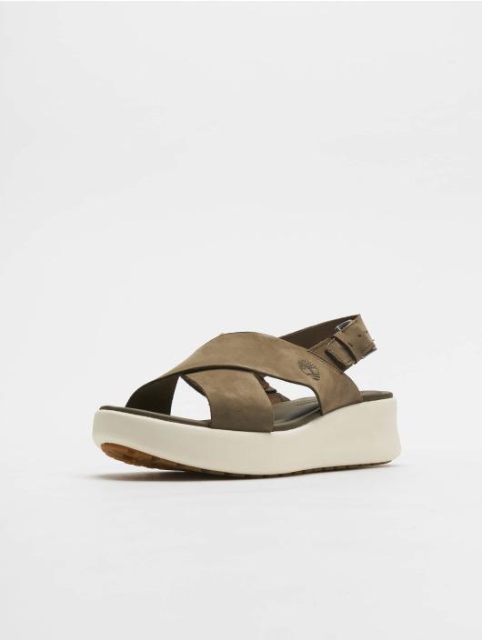 Timberland Badesko/sandaler Los Angeles Wind Slingback oliven