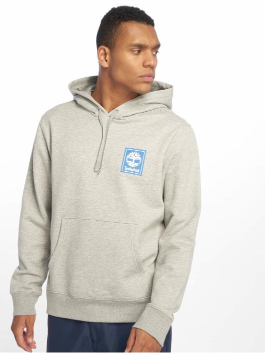 Timberland Bluzy z kapturem YCC Stack Logo szary