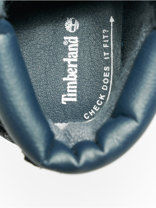 Timberland Boots Crib Booties With Hat blue