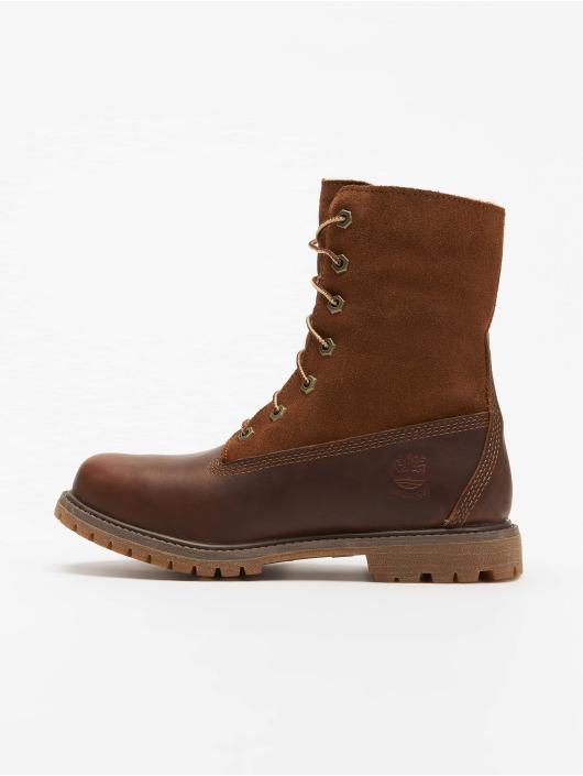 timberland damen boots authentics in braun 528772. Black Bedroom Furniture Sets. Home Design Ideas