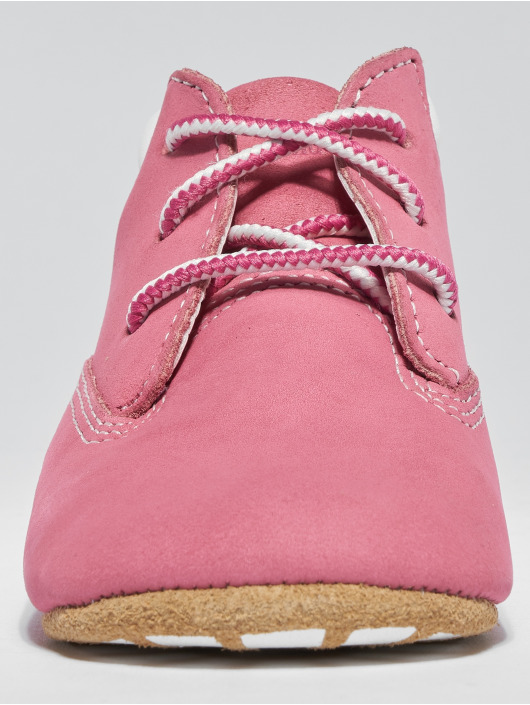 Timberland Boots Crib Booties With Hat fucsia