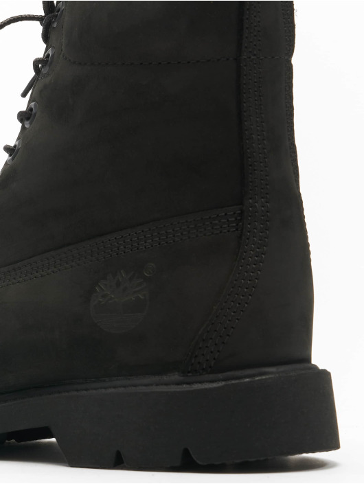Timberland Boots 6 In Basic Non-contrast Collar WP zwart