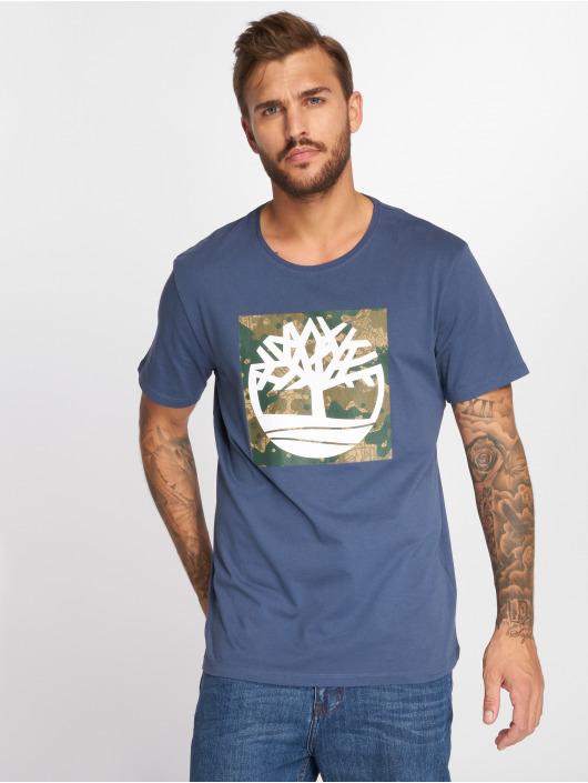 Timberland Camiseta SSNL Pattern azul