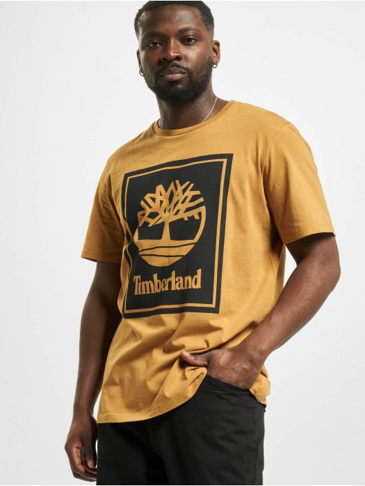 Timberland Camiseta Yc Stack Logo beis