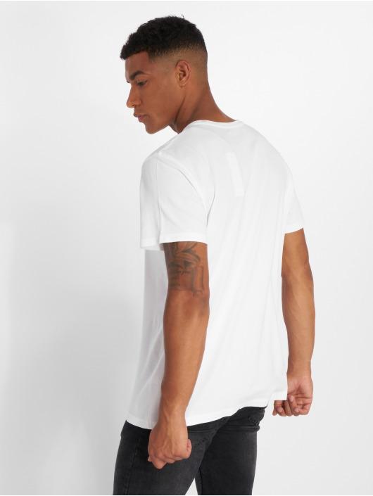 Timberland Camiseta SSNL Pattern blanco
