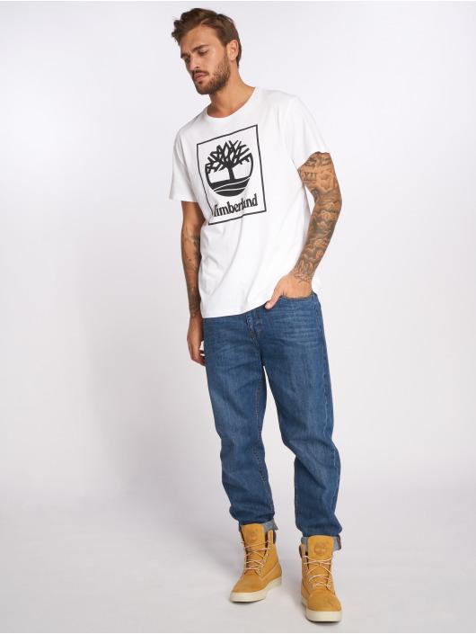 Timberland Camiseta SLS Seasonal Logo blanco