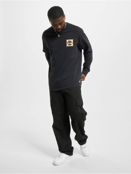 Timberland Camiseta de manga larga Yc Ww Graphic negro