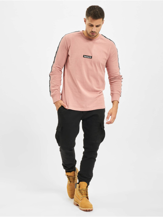 Timberland Camiseta de manga larga Ycc Ls Sls Tape rosa