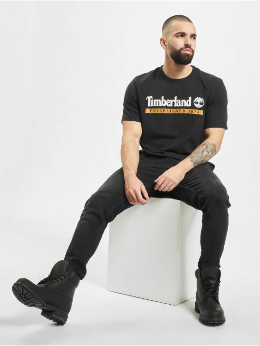 Timberland Camiseta SS Estab 1973 Boot negro