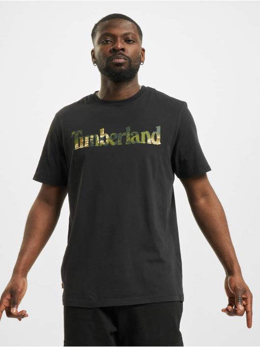Timberland Camiseta Ft Linear negro