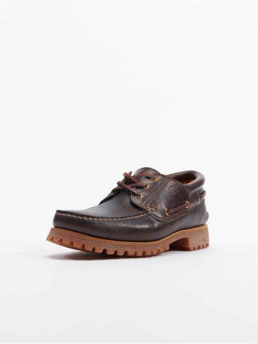 Timberland Chaussures montantes Authentics 3 Eye Classic Lug brun