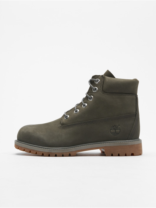 ed16a9f62b6f1 Timberland   6 In Premium Waterproof gris Chaussures montantes 573759