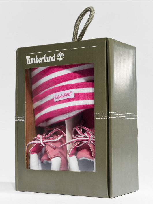 Timberland Booties With Enfant Hat Chaussures Magenta Crib q1OxqPU 1870c9e703bb