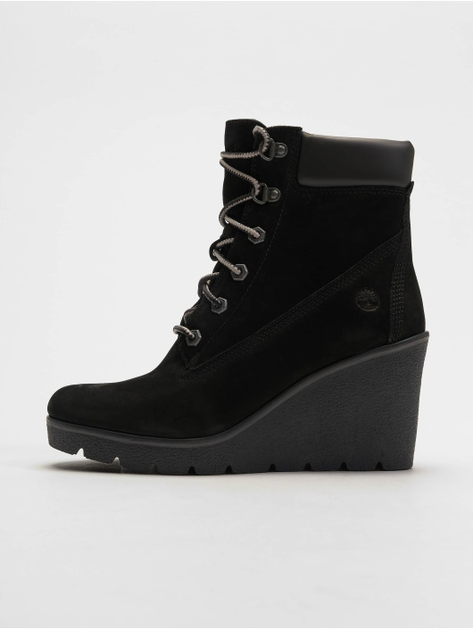 393882be801 ... Timberland Chaussures montantes Paris Height 6In noir ...
