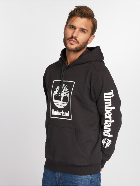Timberland Felpa con cappuccio SLS Seasonal Logo nero