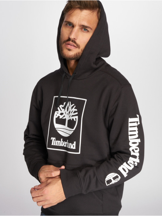 Timberland Hoodie SLS Seasonal Logo svart