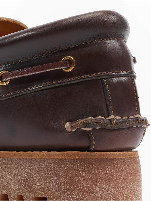 Timberland Hyttesko Authentics 3 Eye Classic Lug brun