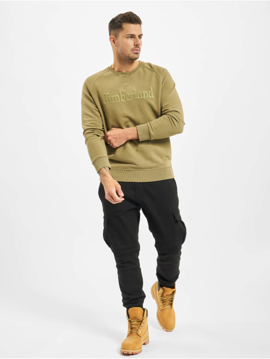 Timberland Jersey Exeter River Logo oliva