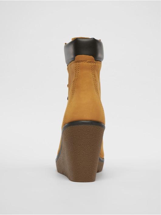 Timberland Kozaki/botki Paris Height Chelsea brazowy