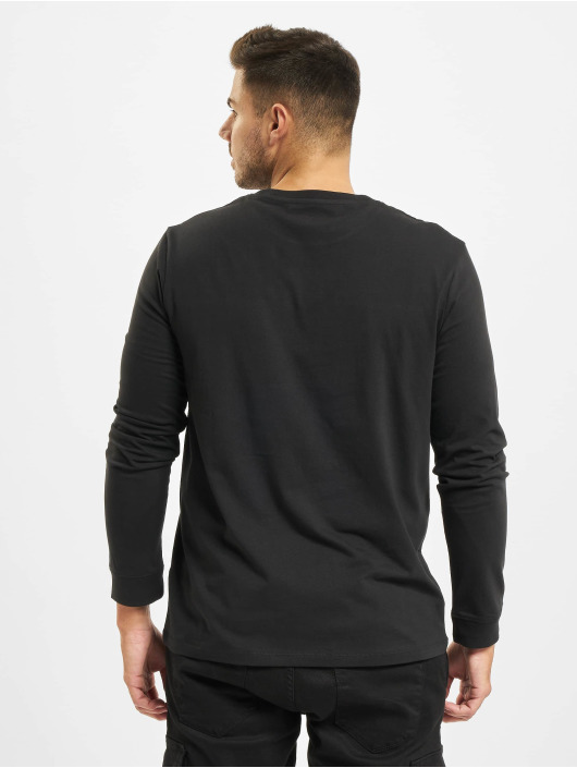 Timberland Langermet Ss Cut & Sew Lin Logo svart