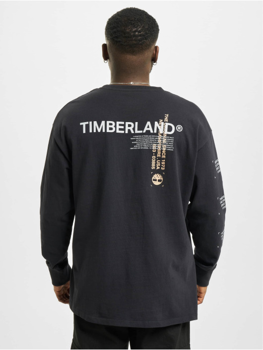 Timberland Maglietta a manica lunga Yc Ww Graphic nero