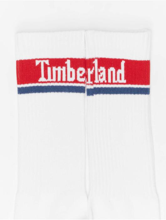 Timberland Ponožky Logo Pattern 2 Pack bílý