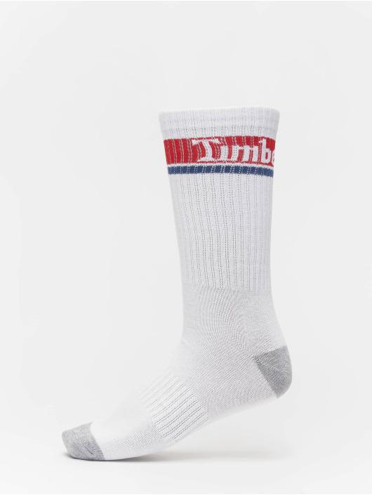 Timberland Ponožky Logo Pattern 2 Pack biela
