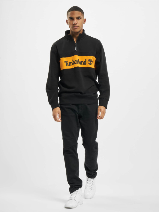 Timberland Pullover C&S Funnel Neck schwarz